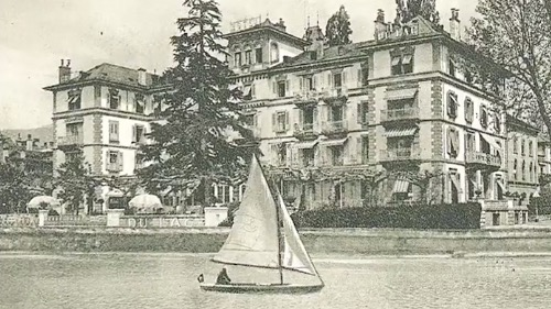 Grand Hotel du Lac in Vevey