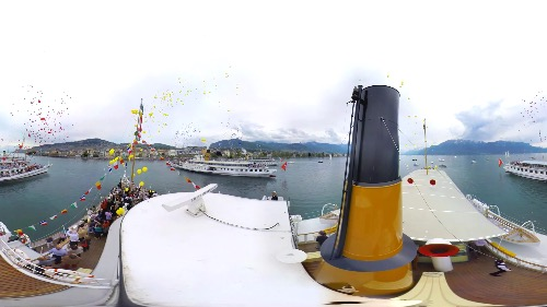Video 360   Parade Navale 2014   Vevey